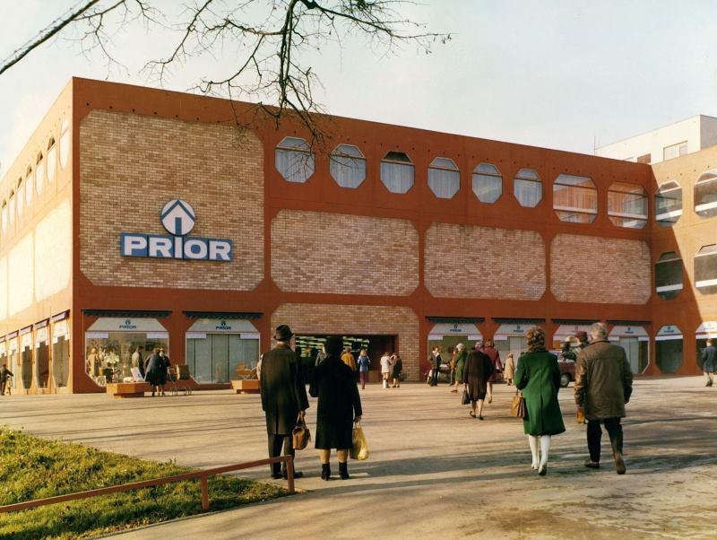 Obchodní dům PRIOR Pardubice