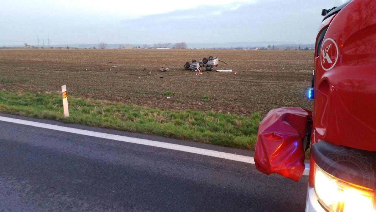 Tři zraněné osoby při nehodě u Čankovic...