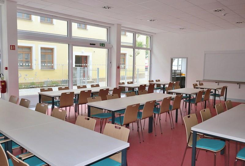 Přístavba Seniorcentra ve Svitavách byla otevřena - Jidelna
