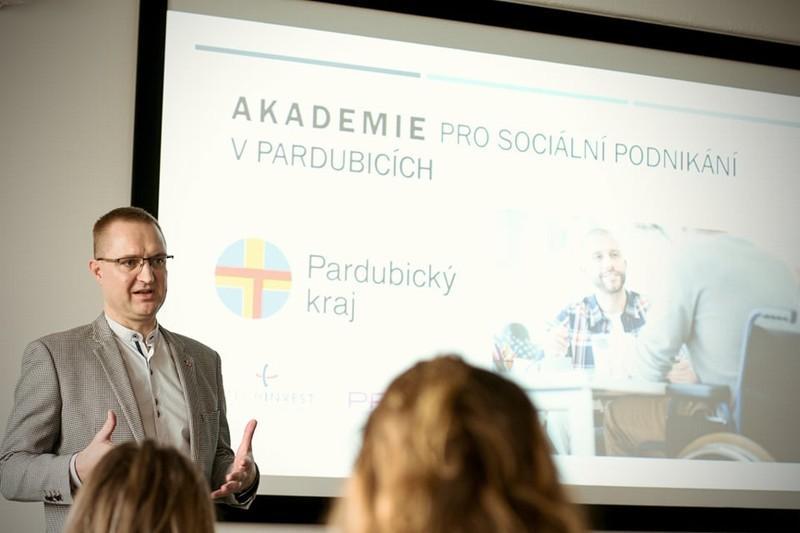 Akademie sociálního podnikání odstartovala v Pardubickém kraji