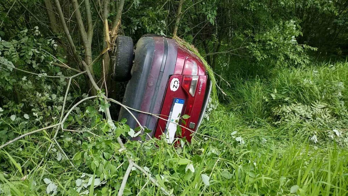 Dopravní nehoda v Úhřeticích