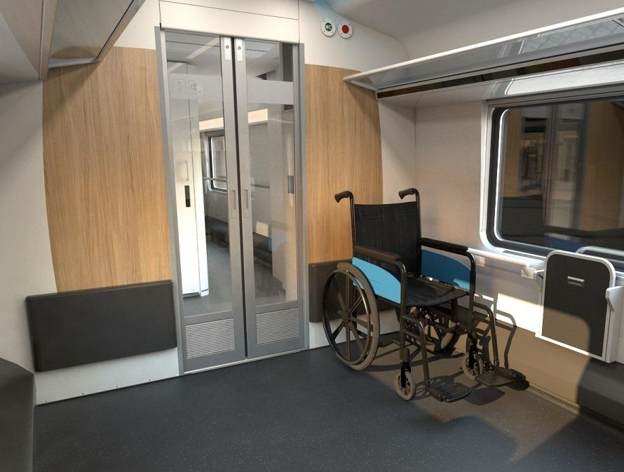 Lidé s handicapem cestují po železnici stále častěji, České dráhy jim nabídnou další bezbariérové vlaky