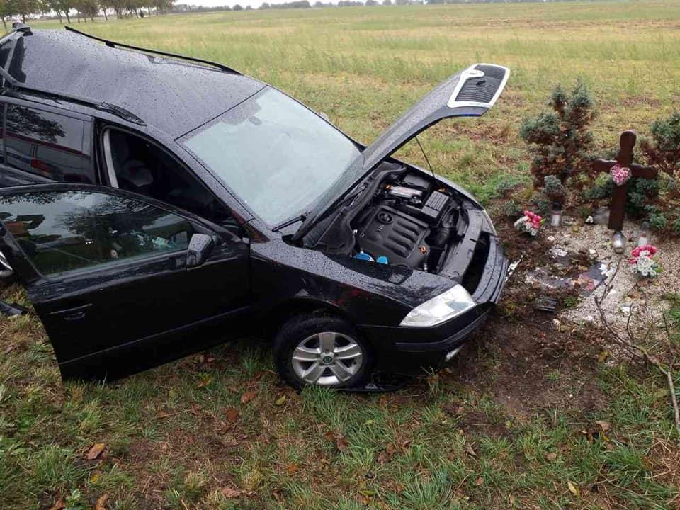 Dopravní nehoda na obchvatu Chrudimi - sjezd na Kočí