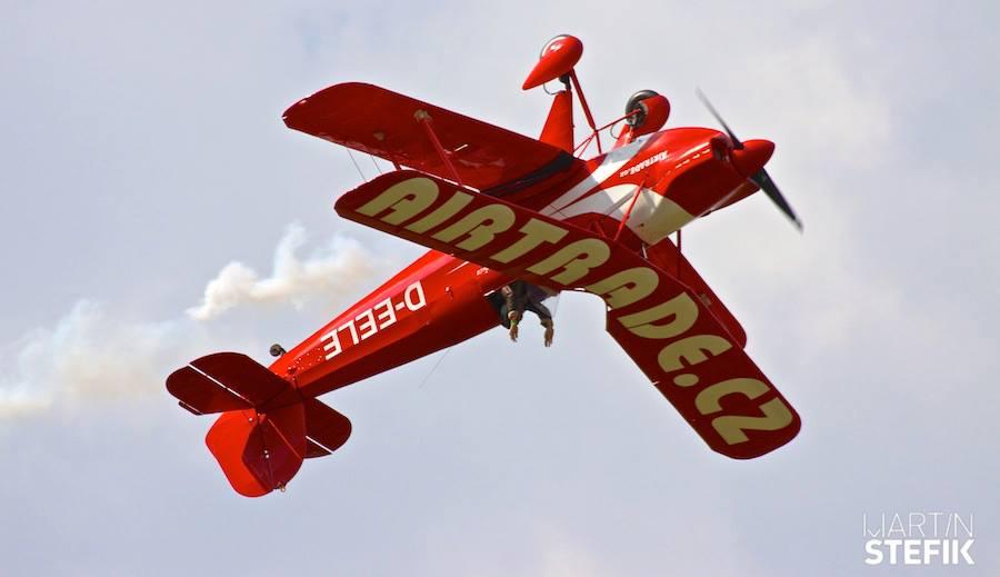 Cvičné legendy amerického letectva na Aviatické pouti