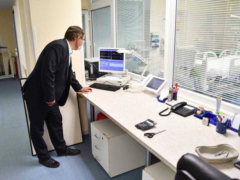 Po havárii vodovodu v litomyšlské nemocnici kraj podpořil celkovou rekonstrukci oddělení