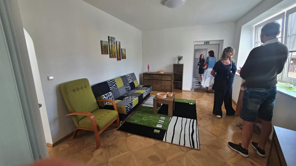 Domek v Žamberku - obývák