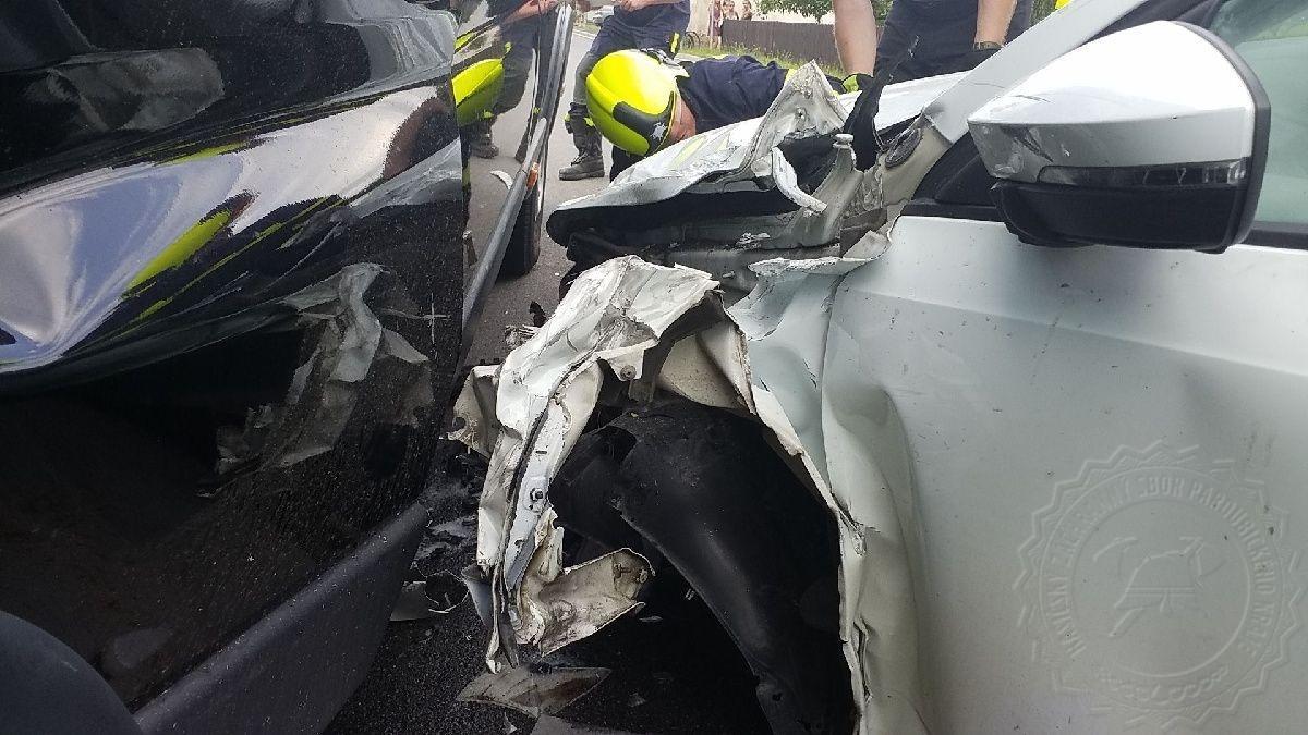 Dopravní nehoda u obce Červená Voda si vyžádala pět zraněných osob
