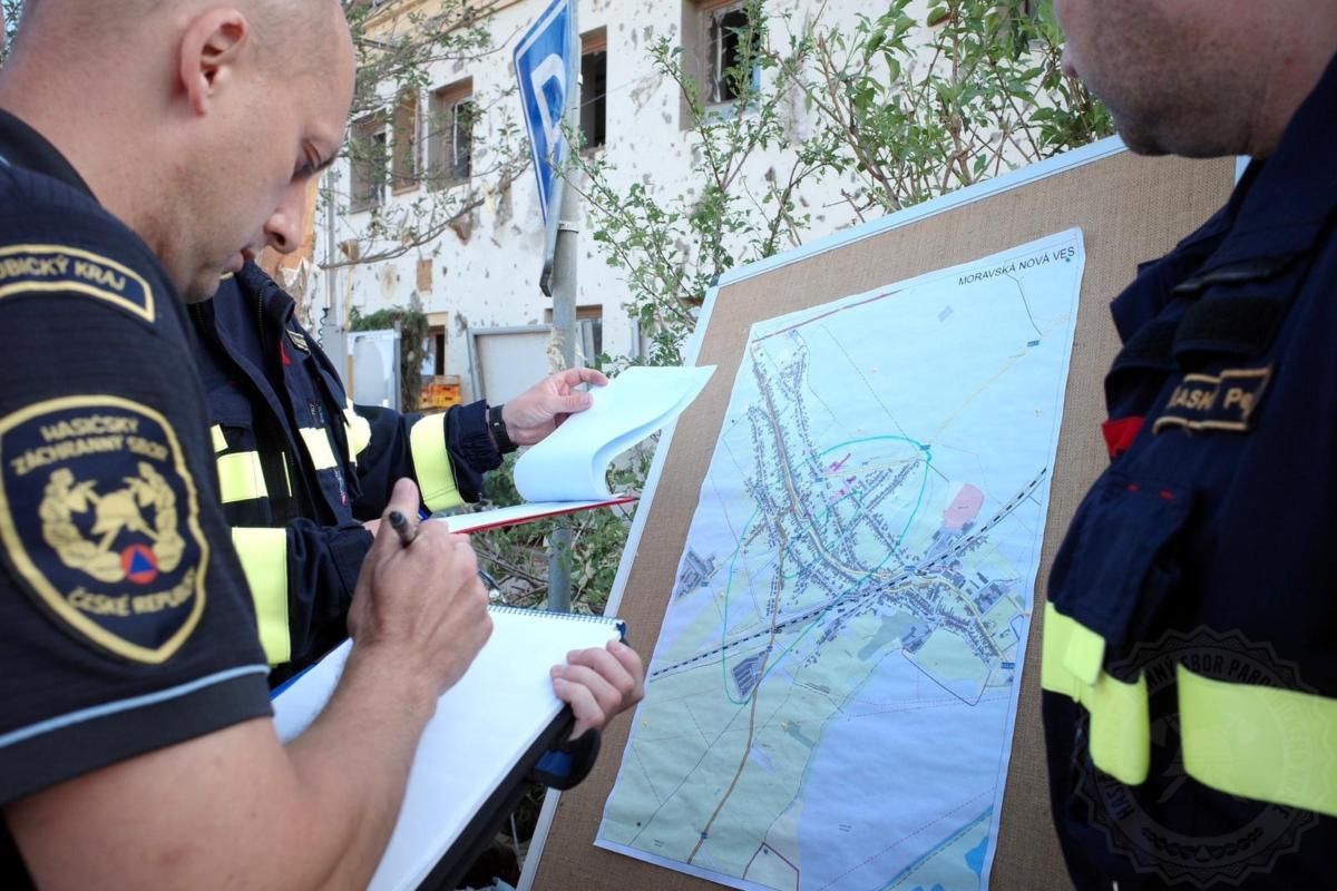 HZS Morava hasici 2606202101