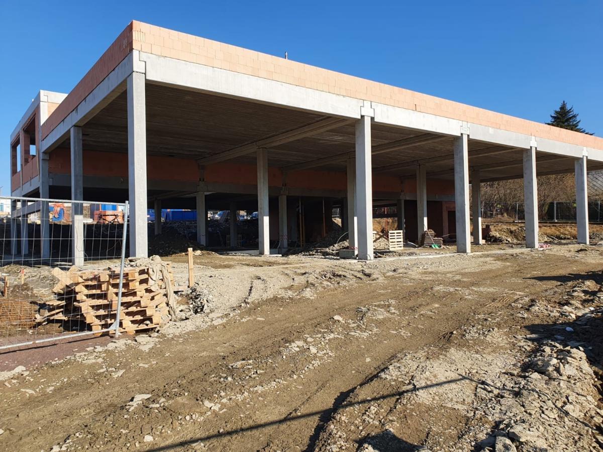 Výstavba nové požární stanice v Žamberku je v plném proudu