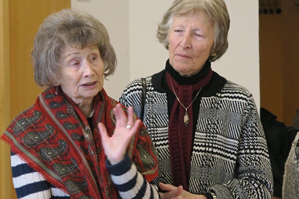 Jarmila Stibicová a Hana Demlová