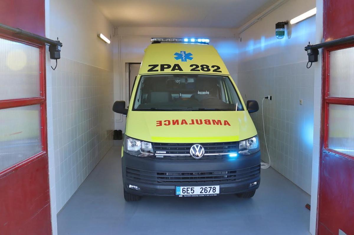 Vyjezdová základna SEČ, Chrudimsko - Zdravotnická záchranná služba Pardubického kraje