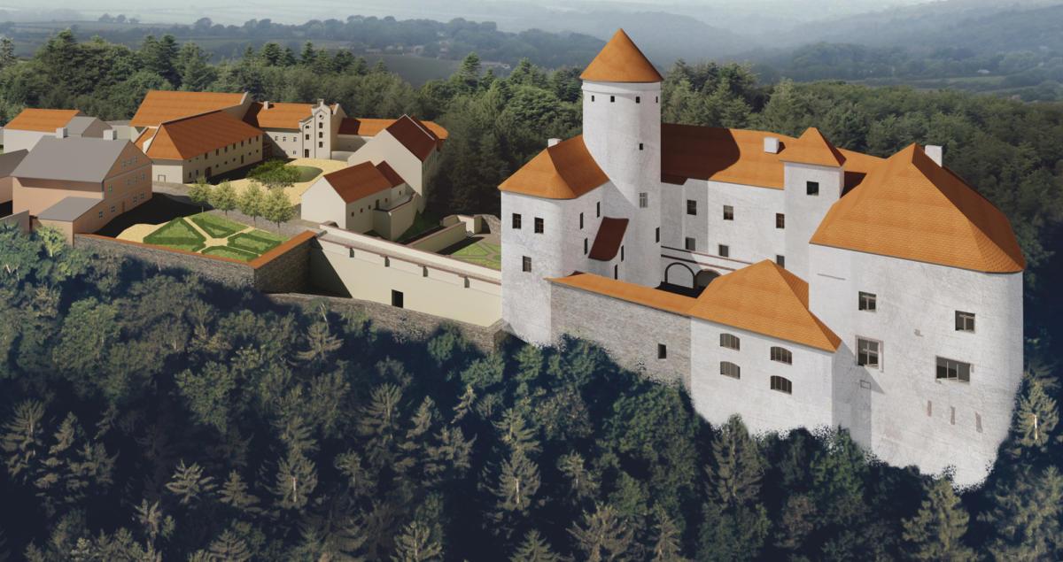 Revitalizace areálu hradu Rychmburk - Dominika Dašková02