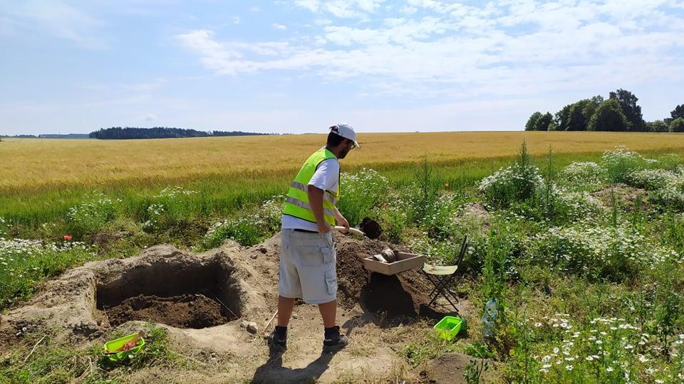Výzkum mezolitického sídliště