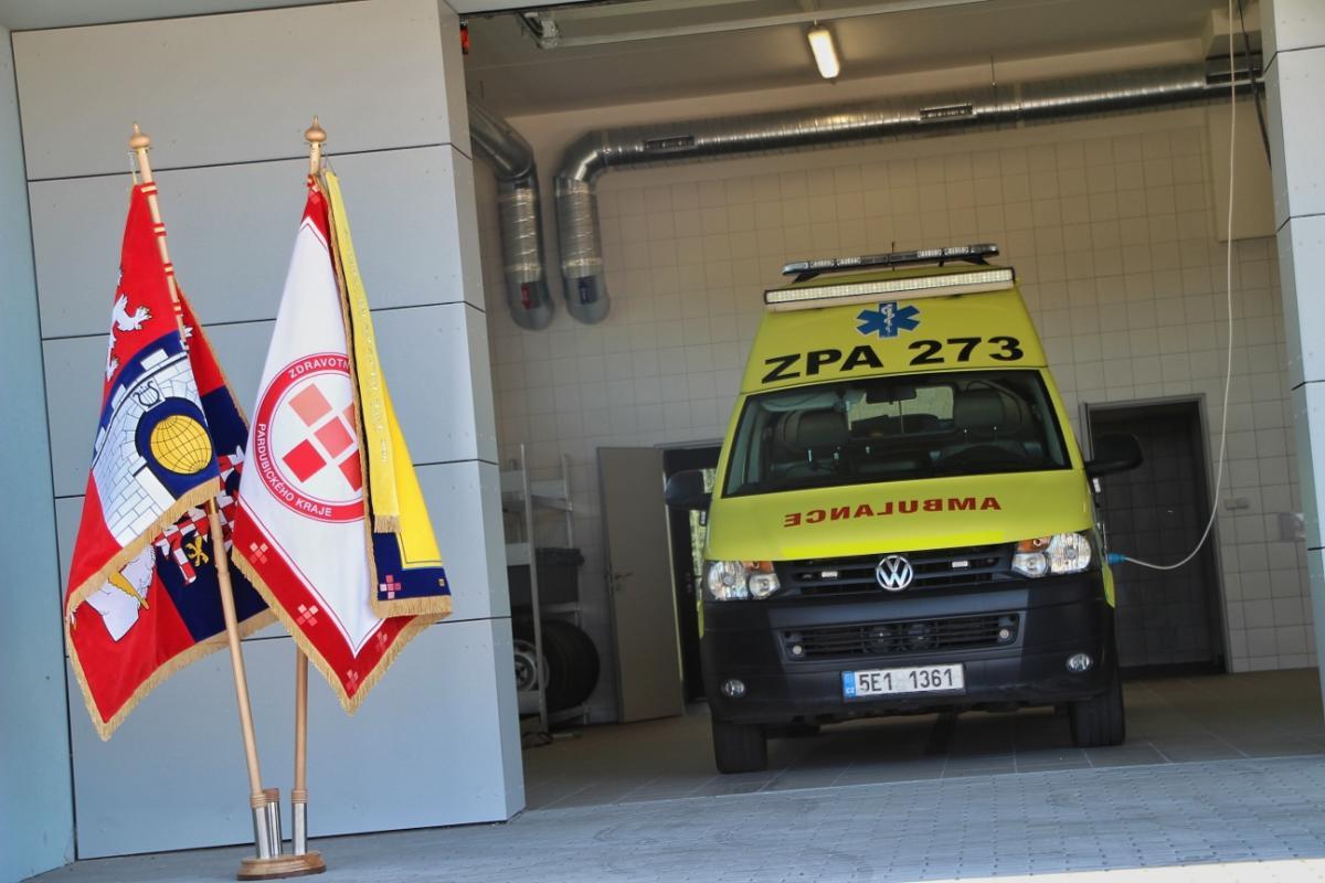 Krajští záchranáři v Holicích jsou v novém