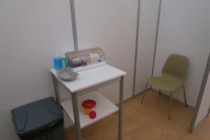 Očkování v sále Jana Kašpara je v plném proudu