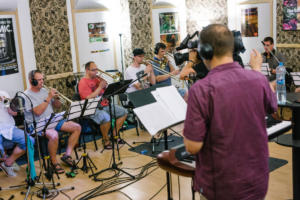 PIRATE SWING Band ve studiu