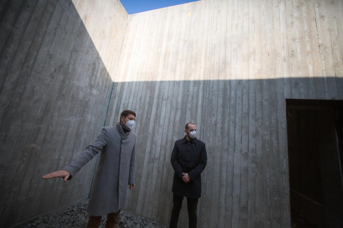 V areálu Památníku Zámeček se sice stále staví, o řediteli je však rozhodnuto
