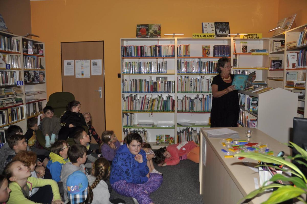 Noc s Andersenem v Obecní knihovně Opatov