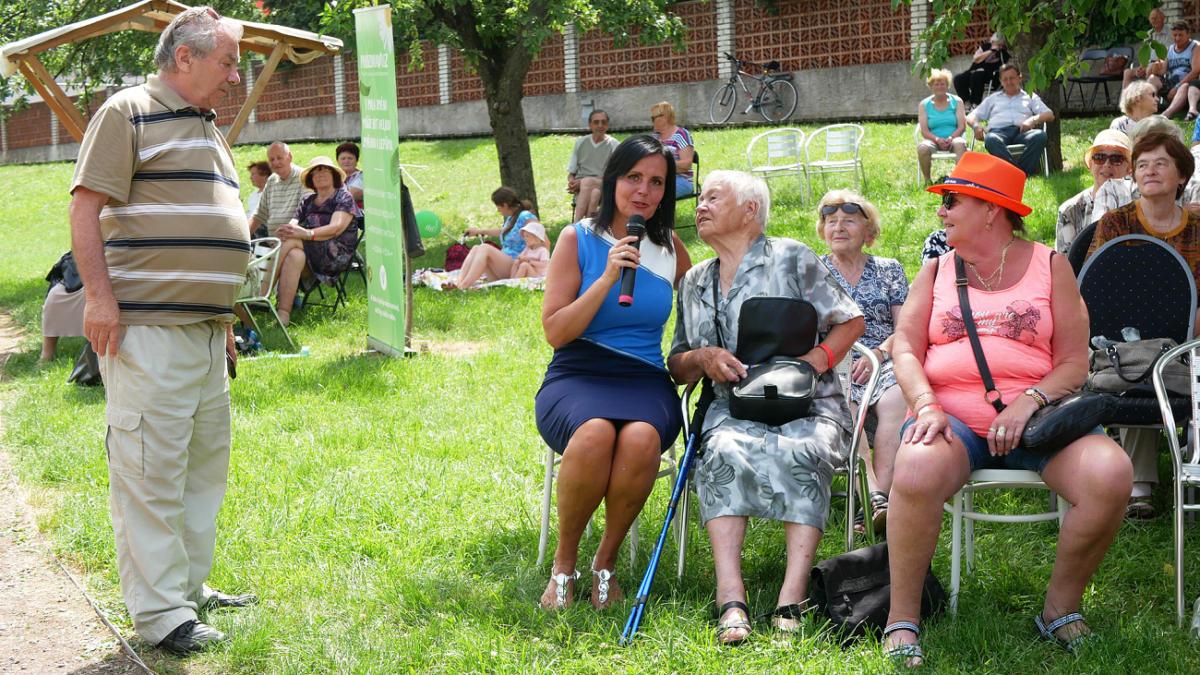 První Senior festival přivítal v Chrudimi na tisícovku účastníků
