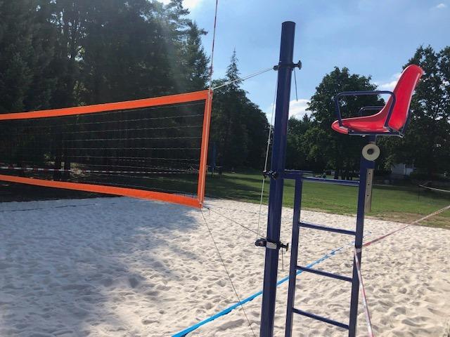 Nové hřiště na plážový volejbal v Aquacentrum Pardubice