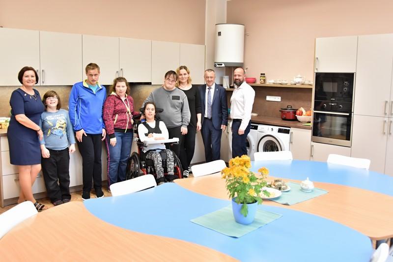 Speciální škola se na dni otevřených dveří pochlubila nejen novou kuchyňkou