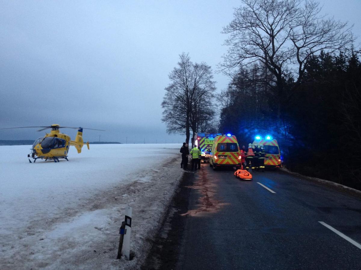 Tragicky skončila v sobotu odpoledne dopravní nehoda v Poličce.