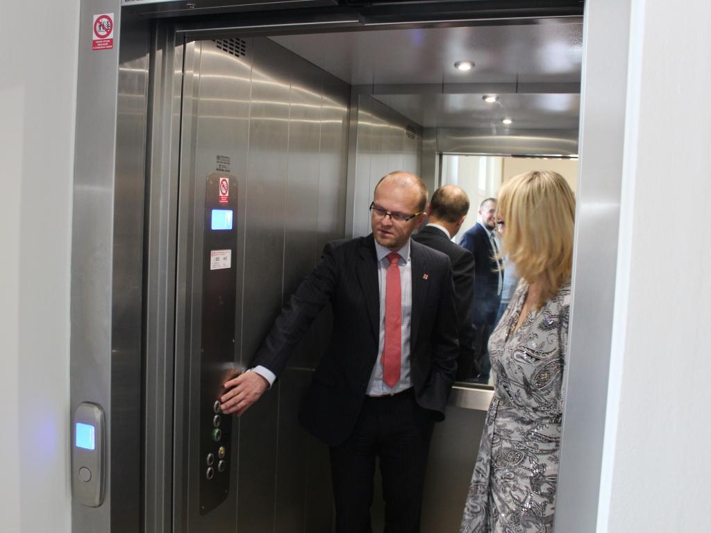Dětské centrum Veská má zateplenou budovu a nový výtah