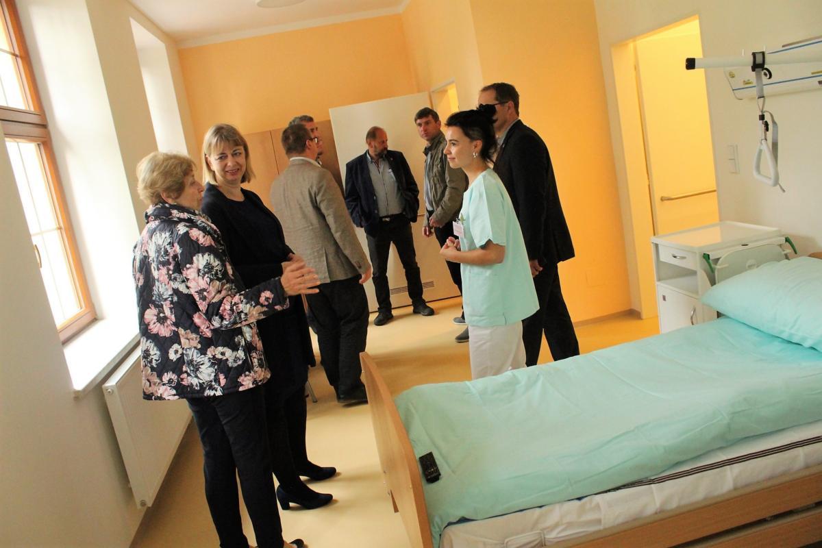 Kraj vybudoval v Jevíčku moderní plicní rehabilitaci za 40 milionů korun