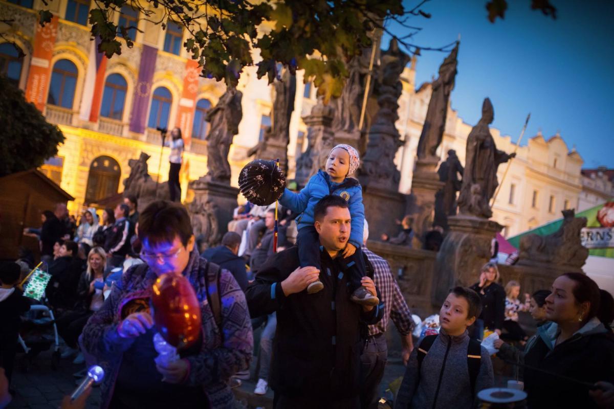 Podzimní městské slavnosti Pardubice 2018 / Foto: Tomáš Kubelka