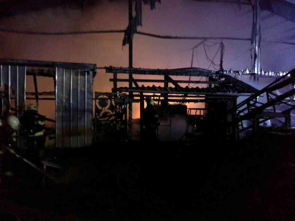 Požár zničil pilu v Morašicích