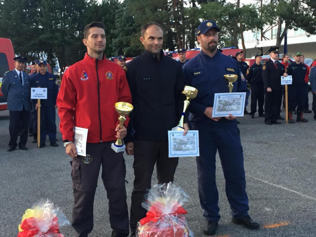Tým hasičů ze Svitav si z mezinárodní soutěže ve vyprošťování přivezl zlato