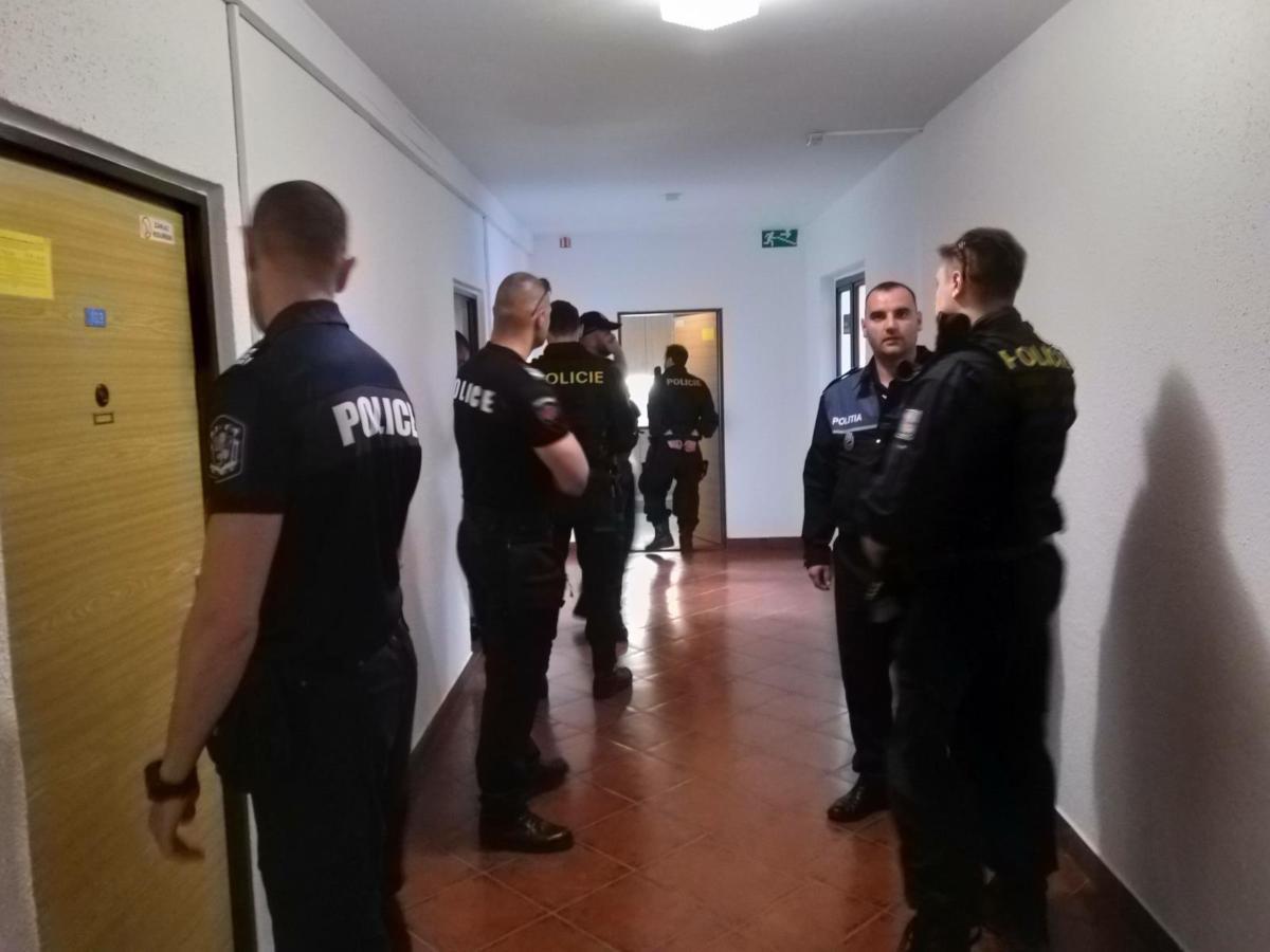 Policistům v Pardubickém kraji pomáhají kolegové z Bulharska a Rumunska.