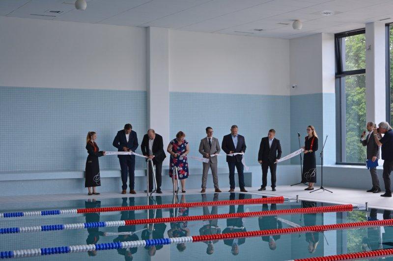Pardubice mají dokončený nový pětadvacetimetrový bazén