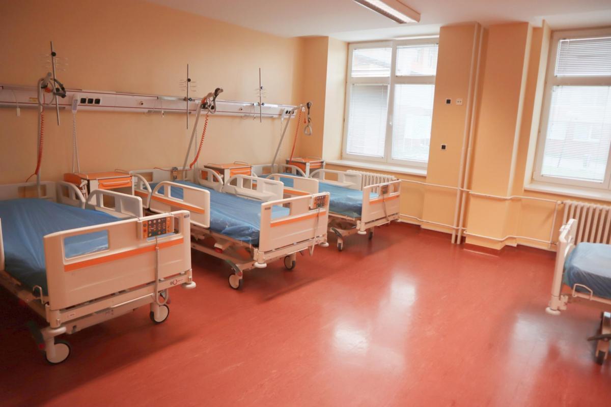 Interní ambulance Chrudimské nemocnice se přestěhovaly do lepšího.