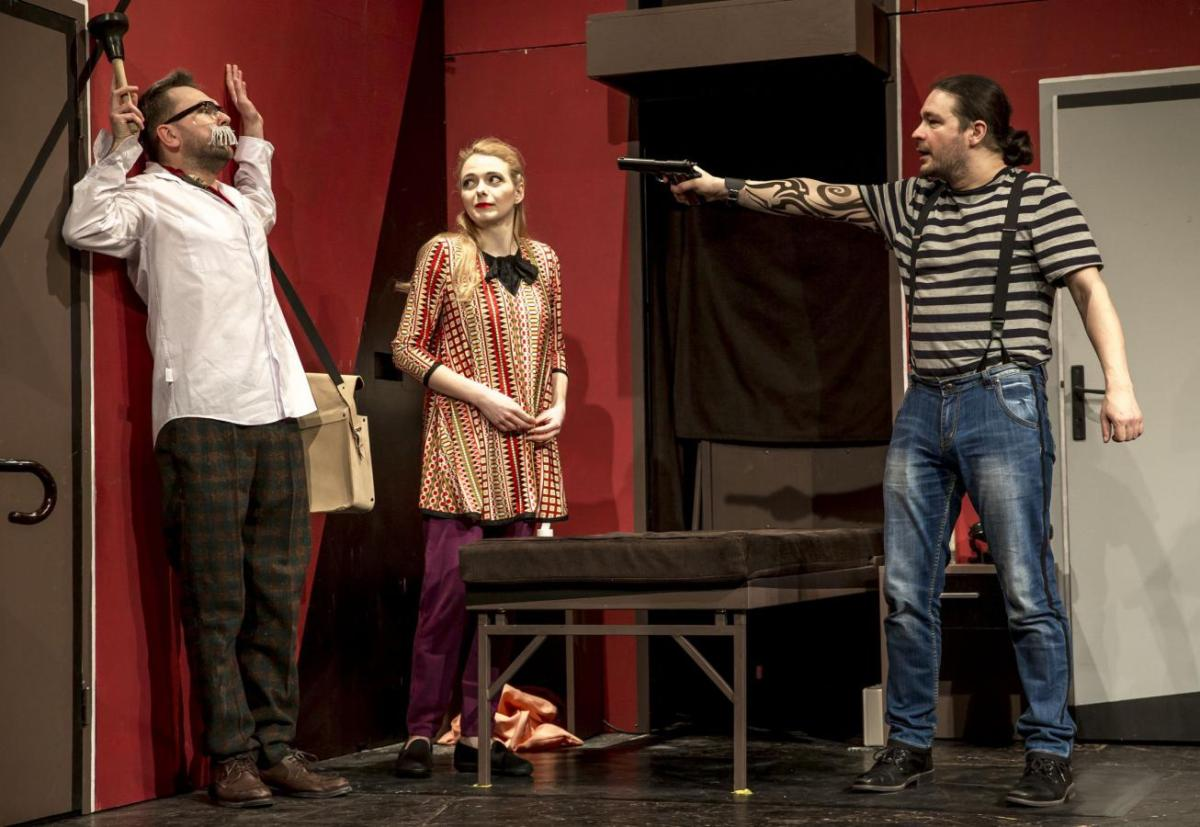 Východočeské divadlo - komedie Velká bankovní loupež - Foto: Radek Kalhous