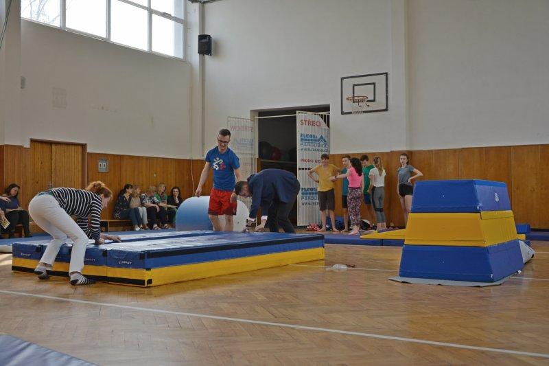 Díky novým pomůckám bude gymnastika pro děti zábavou
