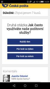Opětovné varování před šmejdy vydávajícími se za Českou poštu