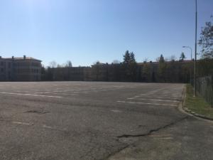 Záchytné parkoviště v kasárnách je připraveno