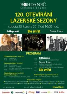 Lazenska Lazne Bohdanec Plakat
