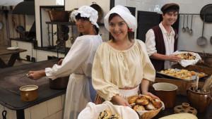 Oživená zámecká kuchyně na zámku Žleby @ Zámek Žleby | Žleby | Středočeský kraj | Česko