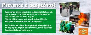 Prevence a bezpečnost - akce pro děti a dospělé... @ GLOBUS, Pardubice