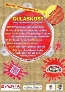Guláškošt - soutěž ve vaření kotlíkového guláše @ Městská tržnice, Holice