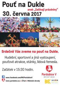 Pouť na Dukle @ Kulturní dům Dukla, Pardubice