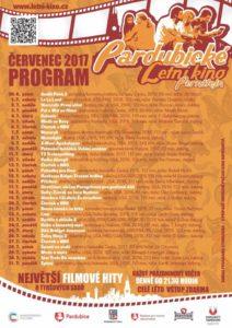 Slavnostní zahájení 12. ročníku Pardubického letního kina @ Tyršovy sady, Pardubice