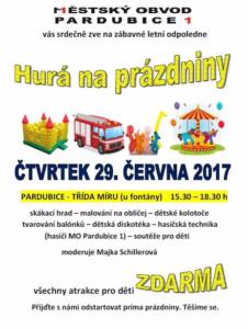 PRÁZDNINY JSOU TADY!!! @ Třída Míru, Pardubice
