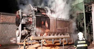 Plameny zničily sušičku kukuřice, škoda je šest milionů korun…