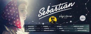 Sebastian / Vesmírná tour / + Like-it @ Žlutý pes / Ke koupališti 62, Pardubice