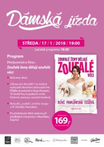 """Dámská jízda s filmem """"Zoufalé ženy dělají zoufalé věci"""" @ Cinestar Pardubice (OC GRAND)"""