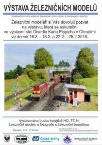 Výstava železničních modelů v Chrudimi @ Divadlo Karla Pippicha v Chrudimi