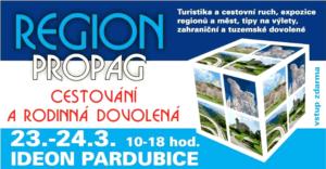 RegionPropag 2018 - Cestování a rodinná dovolená @ IDEON Pardubice | Pardubický kraj | Česko